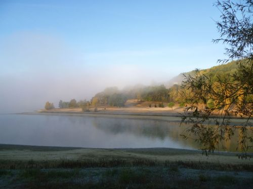 paysage d'automne dans le Lot-et-Garonne